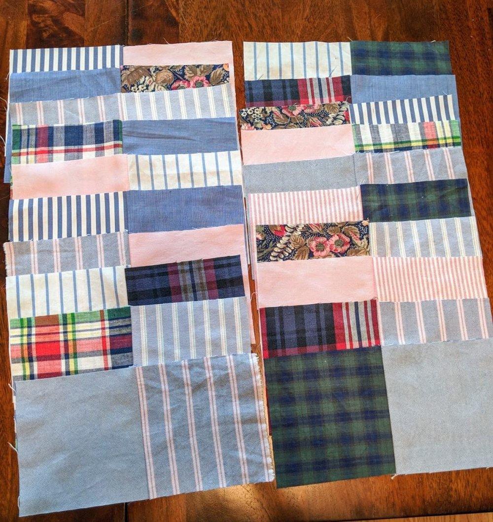 111: quilt squares sewn!