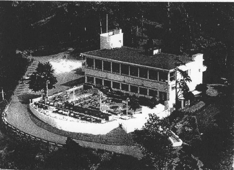 Flyfoto av Ekebergrestauranten