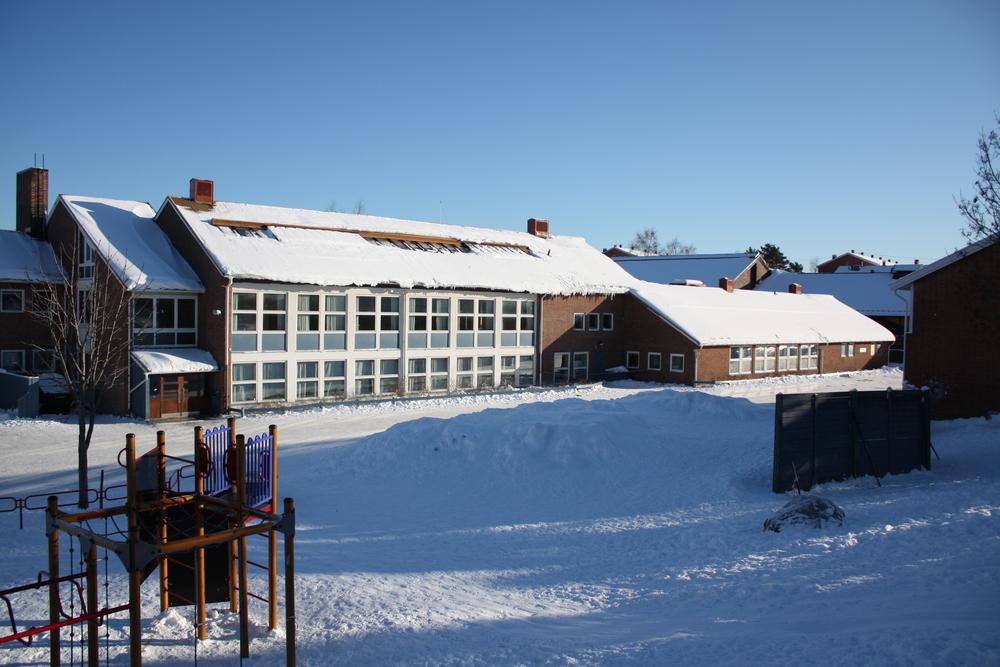 Lambertseter skole. Foto: Wikimedia Commons