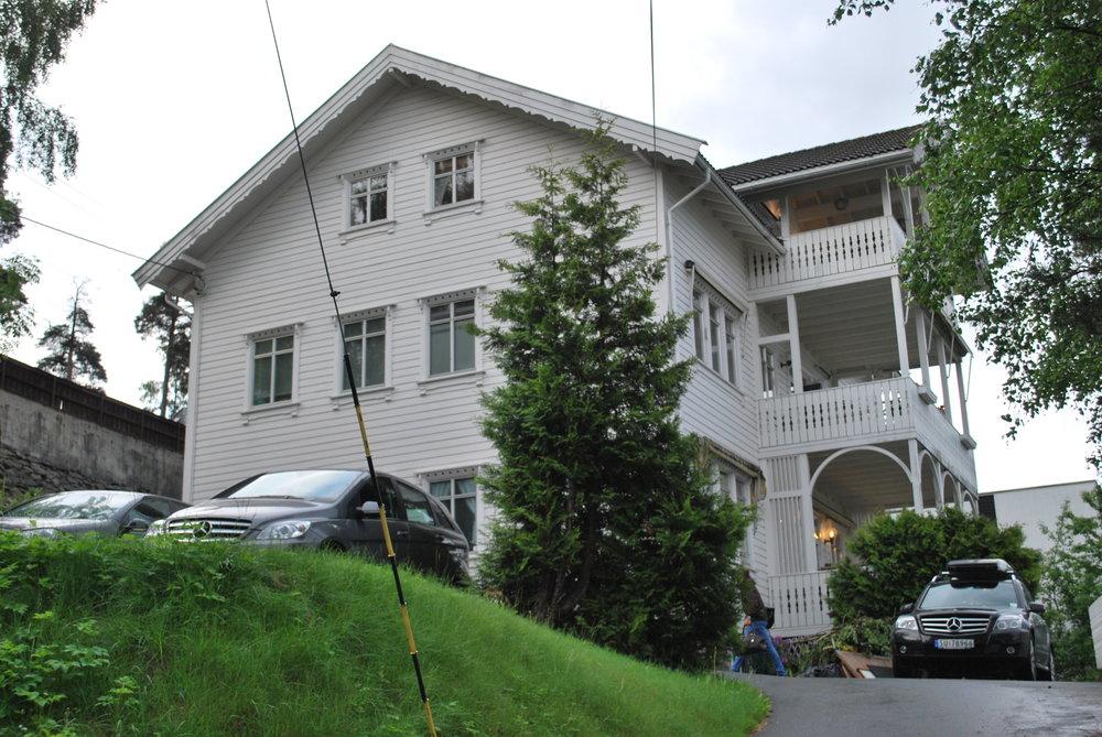 Huset til Anders Hovden