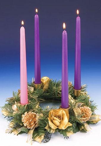 Advent Wreath Making Nativity Of Our Lady Catholic Community