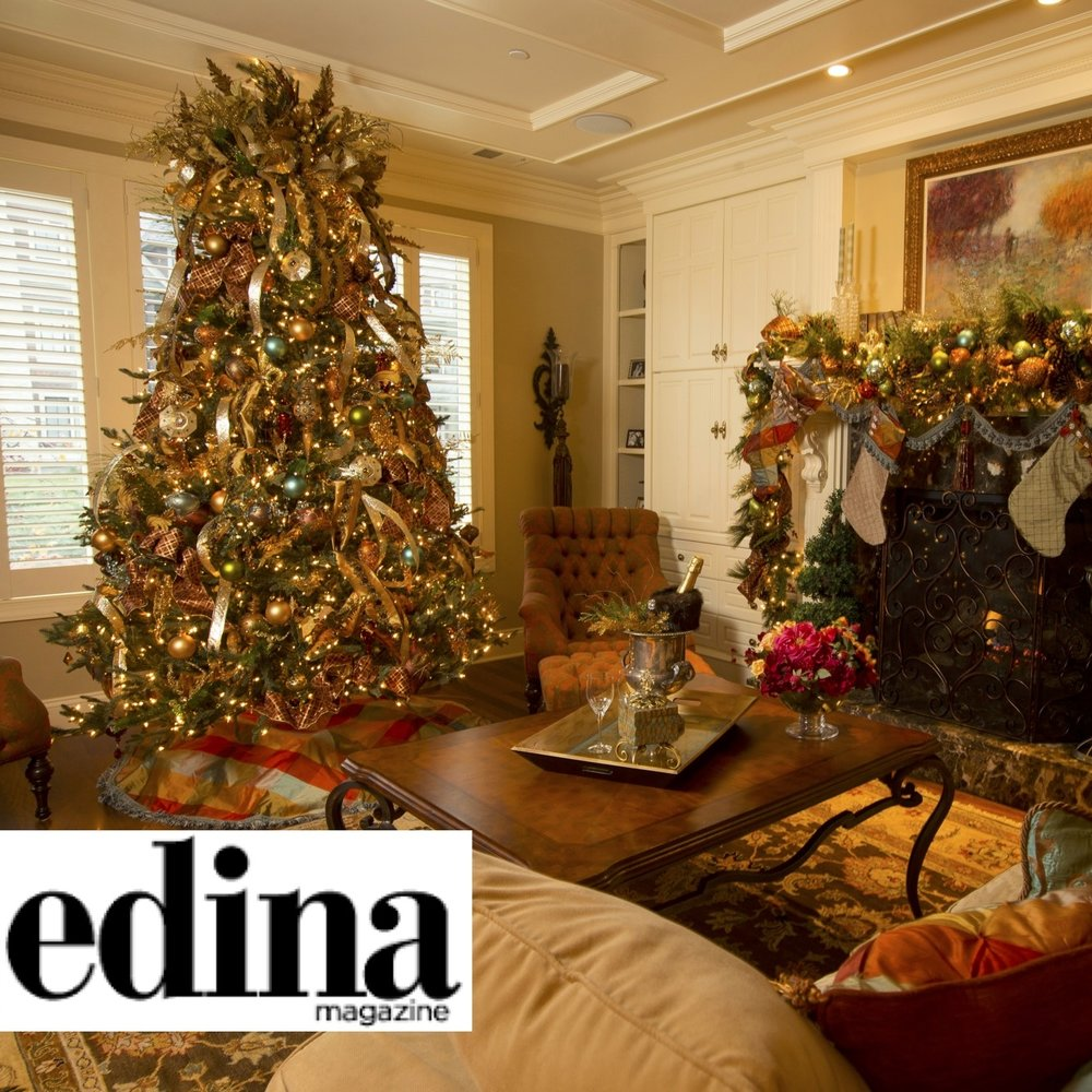 Hot Holiday Decor Trends from Top Edina Designers