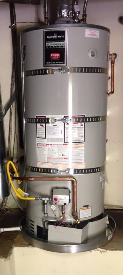 75 Gallon Water Heater Install