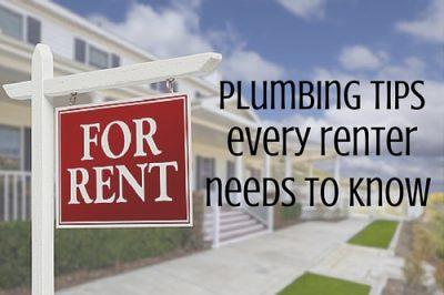 Plumbing Tips For Renters
