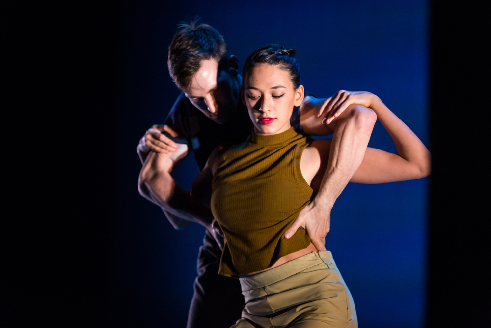 Adrienne Lipson and Garrett Anderson performing an excerpt of Penny Saunders' Joe & Ida at DanceFAR 2015. photo: Alex Reneff-Olson