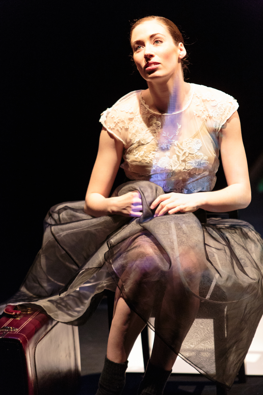 Amber Neumann in Dana Genshaft's  Portrait .
