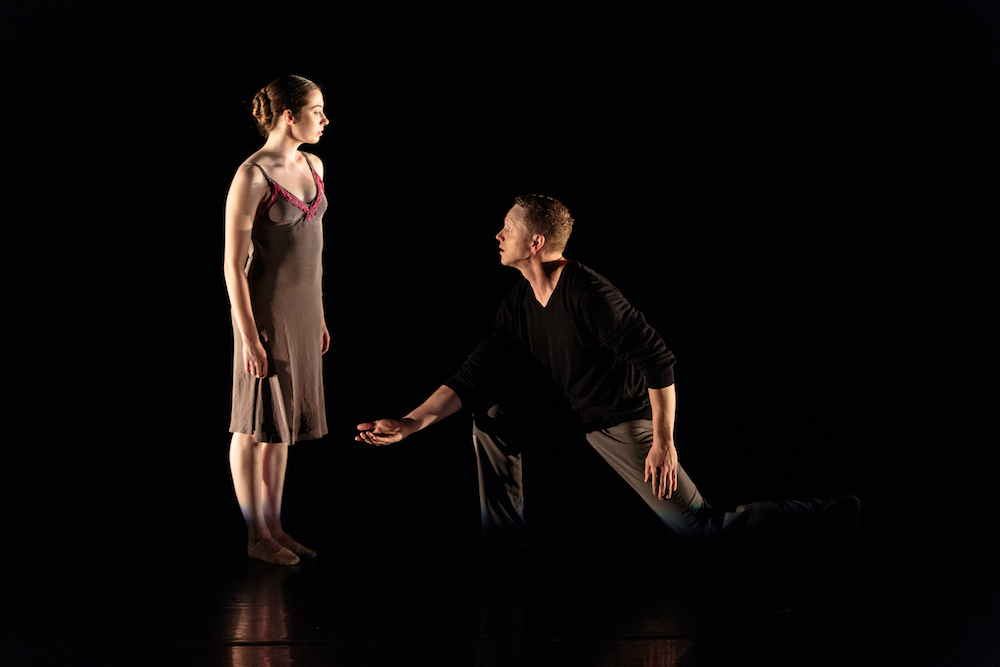 Amber Neumann and Tobin Del Cuore in Alejandro Cerrudo's  Lickety Split .