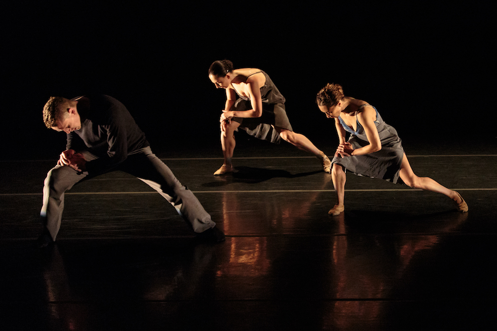 Tobin Del Cuore, Dana Genshaft, and Anne Zivolich-Adams in Alejandro Cerrudo's  Lickety Split .