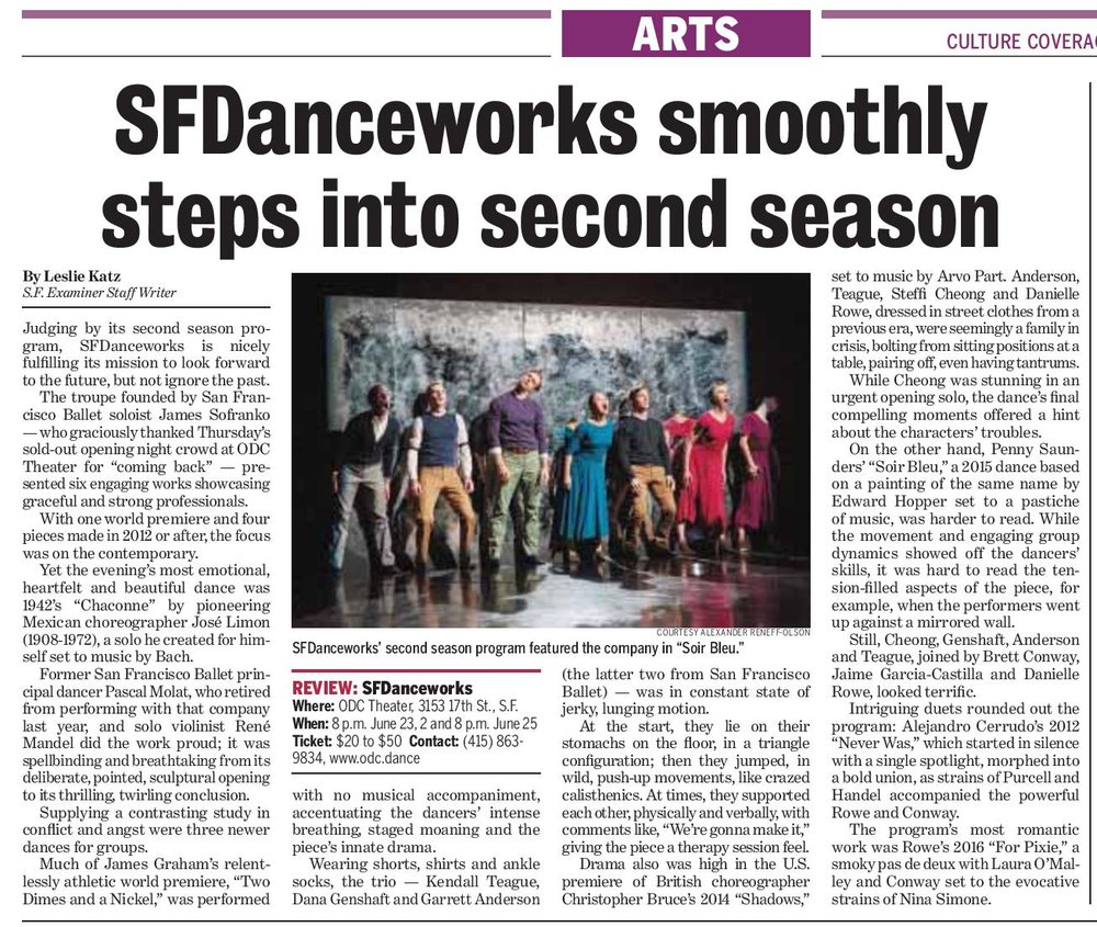 Click for the Season Two review in the SF Examiner.