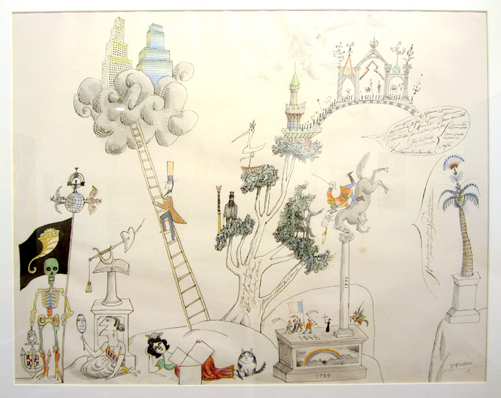 Tex and Jack simply love Saul Steinberg's universe. Great inspiration!
