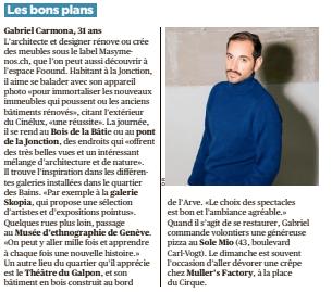 Tribune de Genève - 19 février 2019