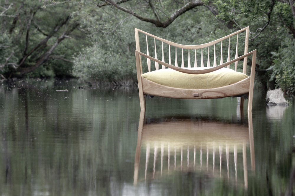 Wild wood bed