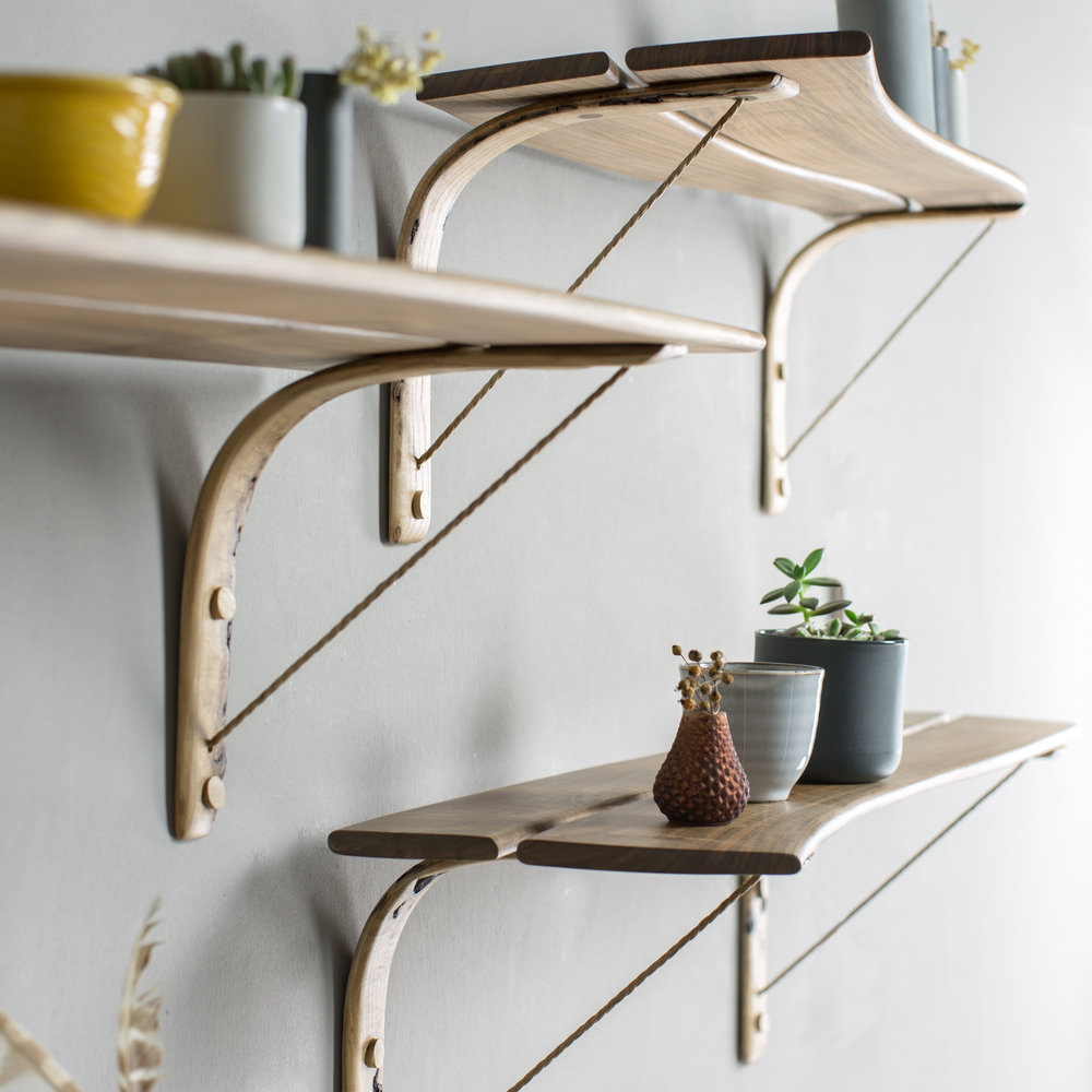 Bentwood Shelves