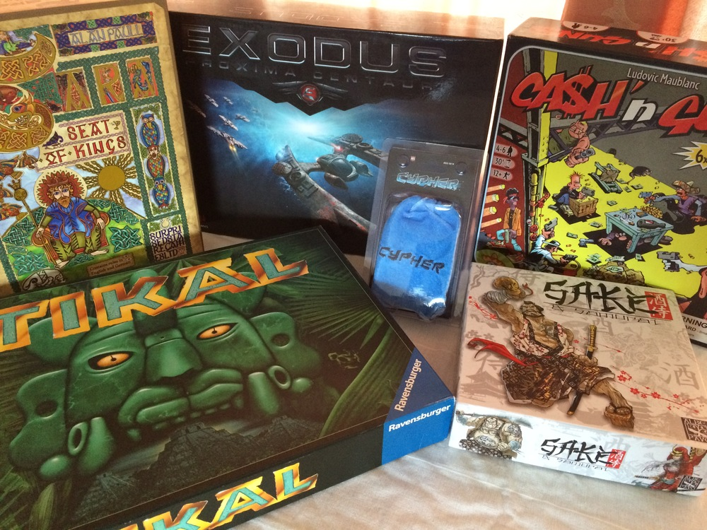 Games added to our collection