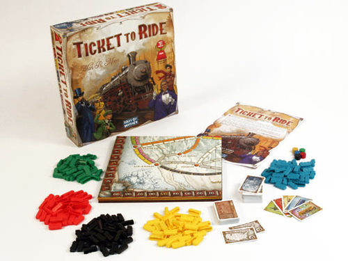 Simple to learn and play a great first step into board games