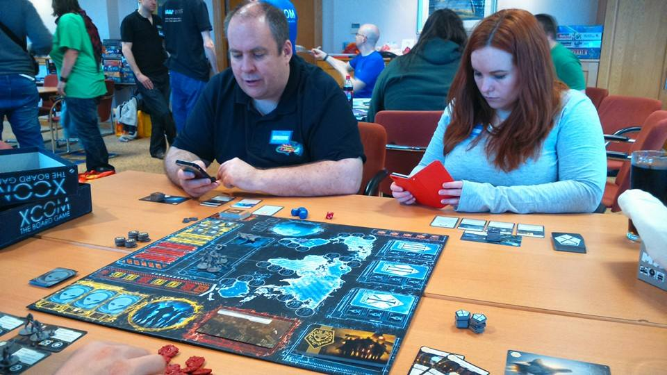 Figuring out how to  play XCOM the boardgame