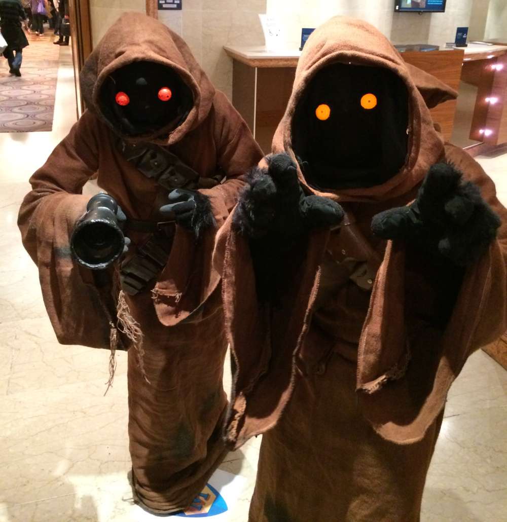 The Jawa's came for me...