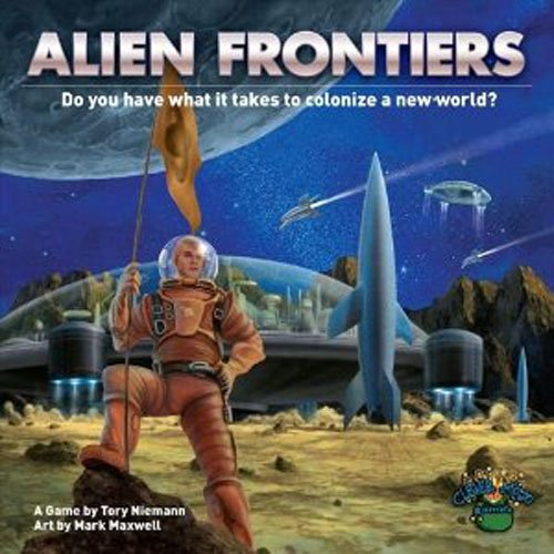 Create new spacecraft, develop now technology, then claim the Alien Frontier