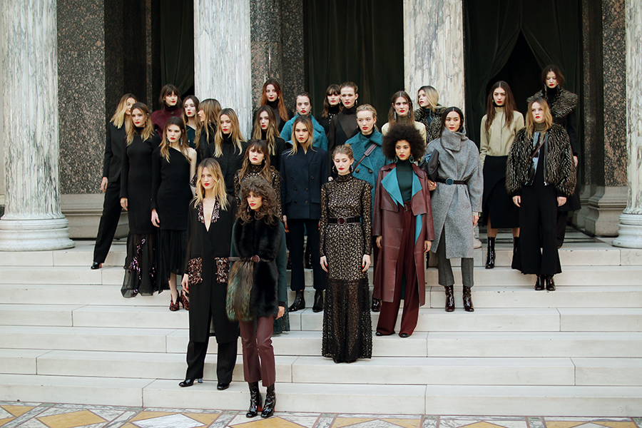 F/W 2016 show at Glyptoteket.