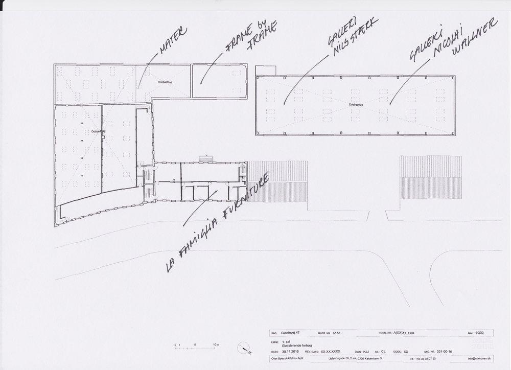 Plan af Glentevej 47-49 Mange hilsner Christina
