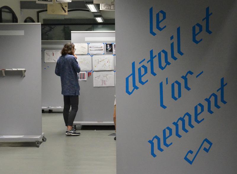 """""""Le détail et l'ornement"""" - l'origine  1 DSAA Design produit"""