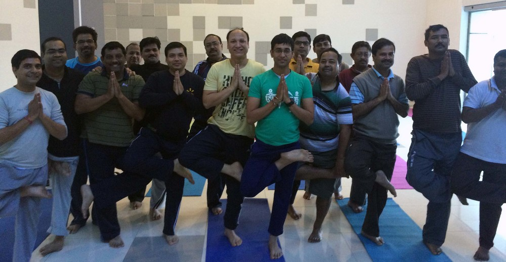 Mystic Yoga for RPEG-Sanjiv Goenka Group