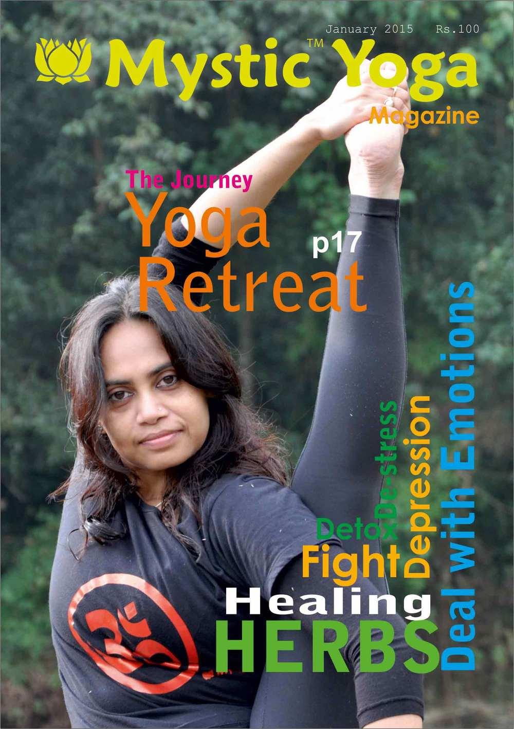 Mystic Yoga Magazine - January 2015