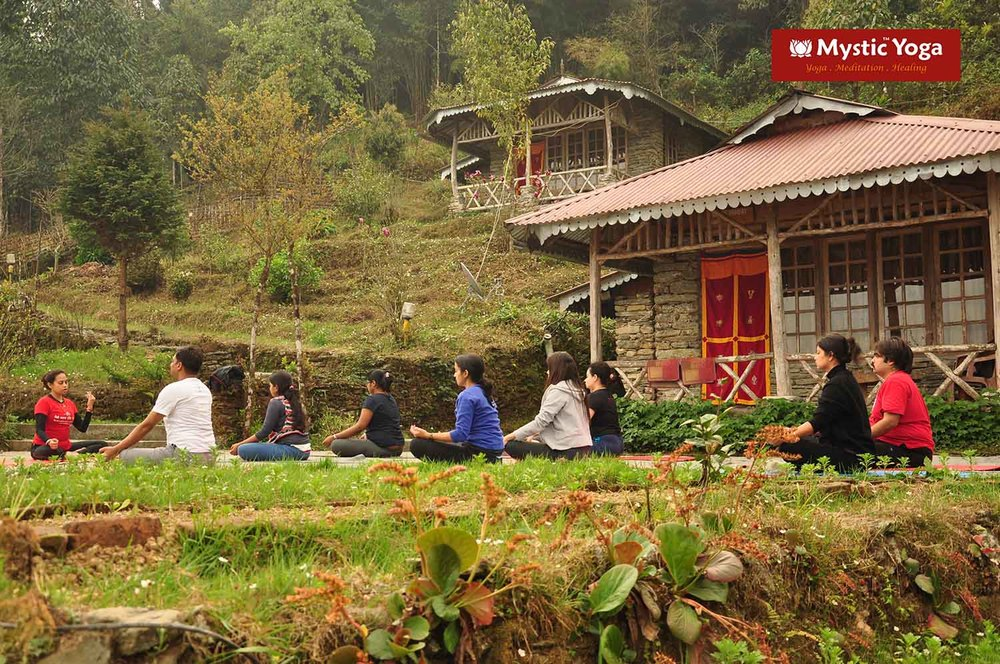 Mystic Yoga Retreat - Ravangla - March -2016 - 03.JPG