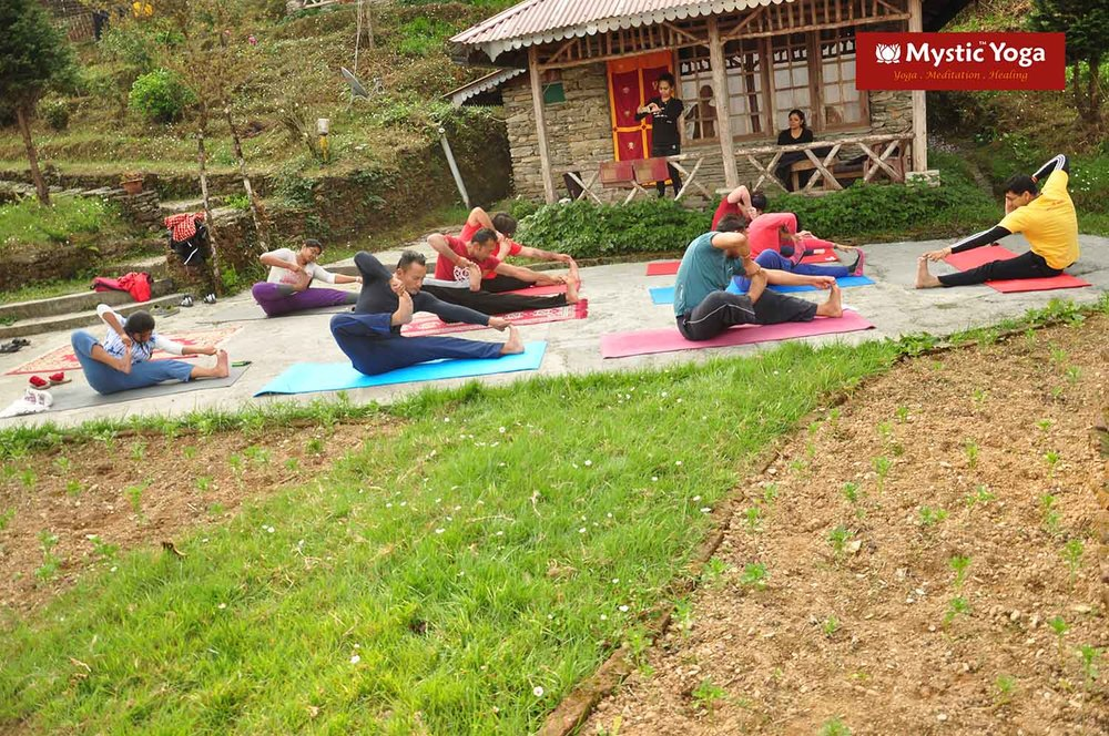 Mystic Yoga Retreat - Ravangla - March -2016 - 05.JPG