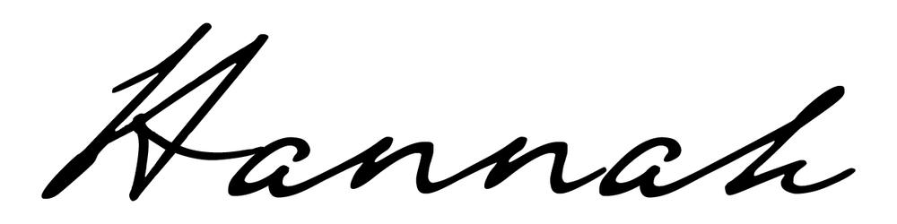 Hannah Wynn Signature
