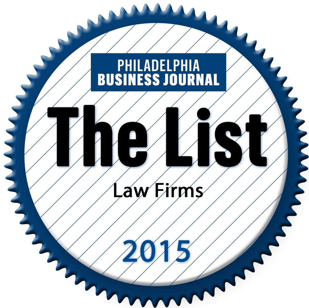 Philadelphia Business Journal - The List 2015.png
