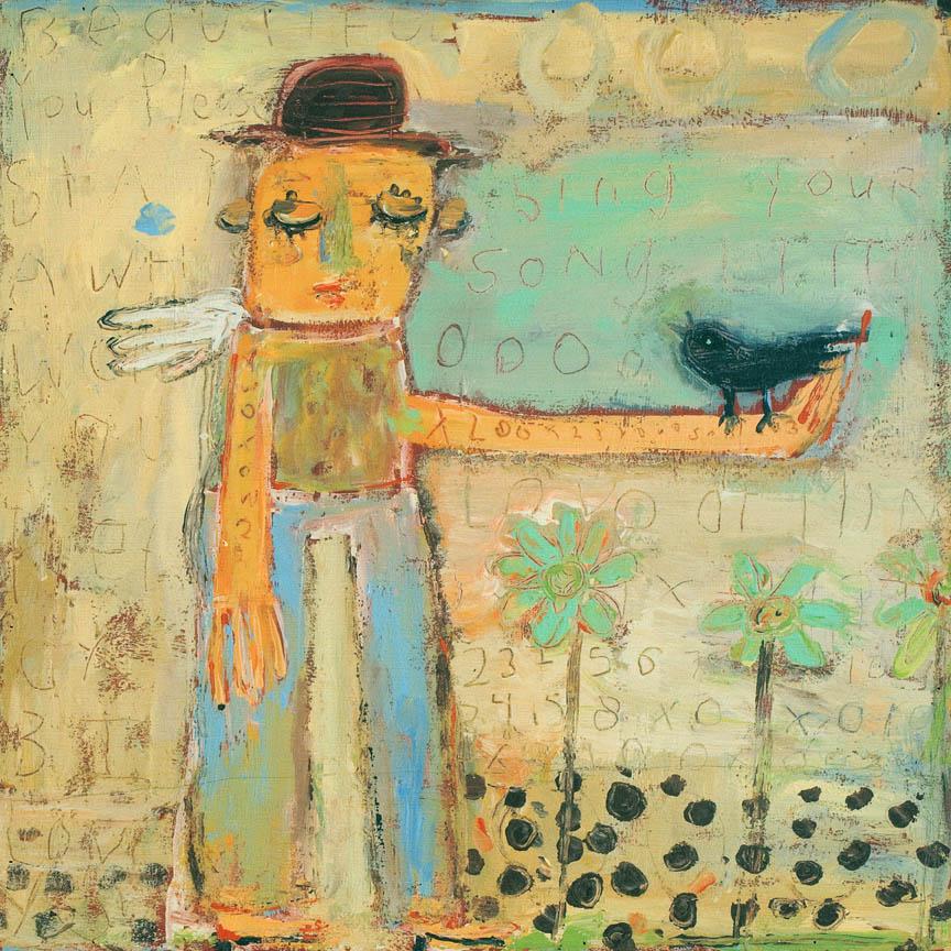 Man With Bird