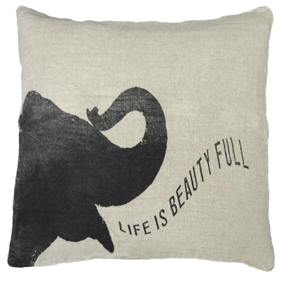 LIFE IS BEAUTIFUL ELEPHANT