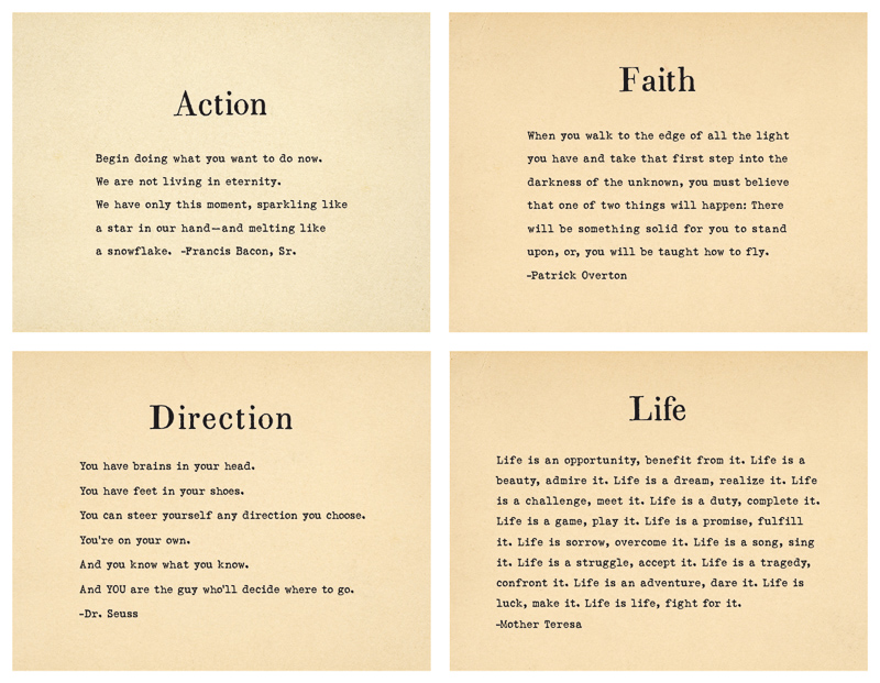 Brilliant Quotations Pad