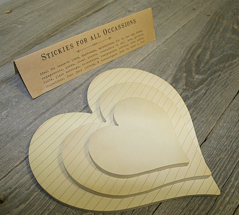 Sticky Heart Pads