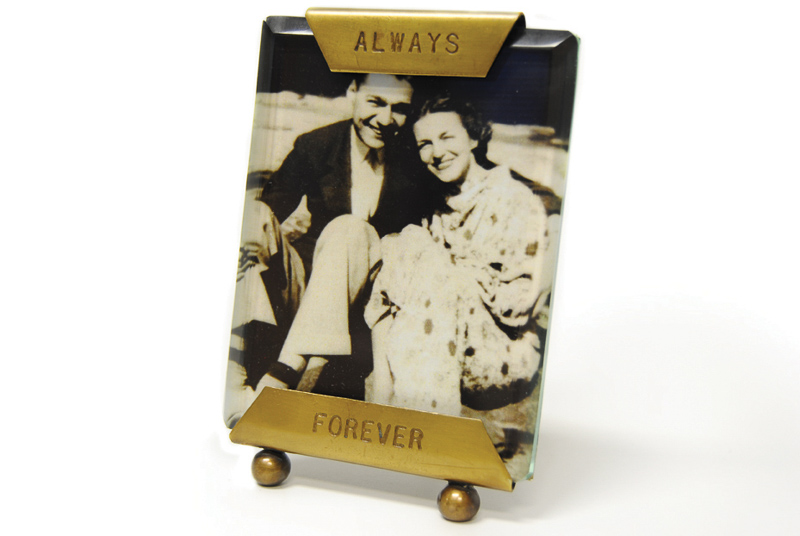 ALWAYS FOREVER GLASS FRAME