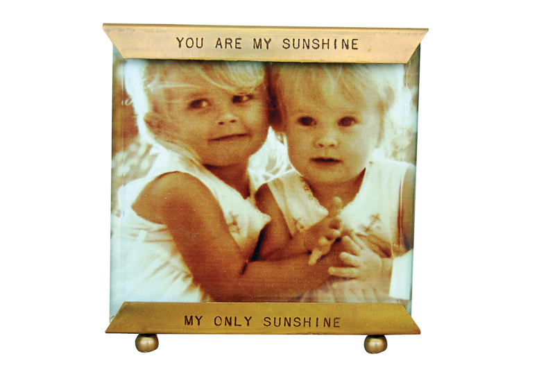 YOU ARE MY SUNSHINE GLASS FRAME