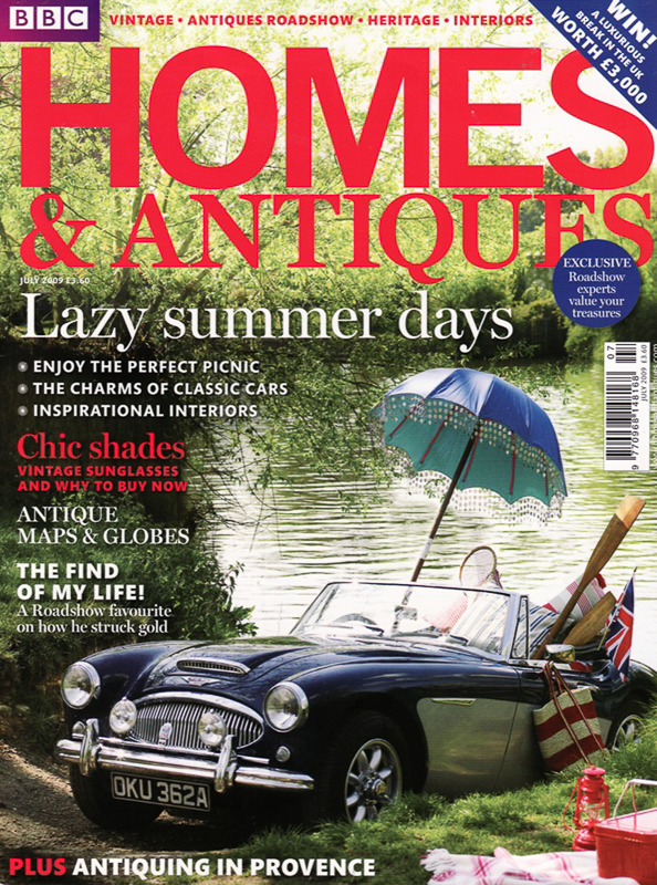 BBC Homes & Antiques Cover