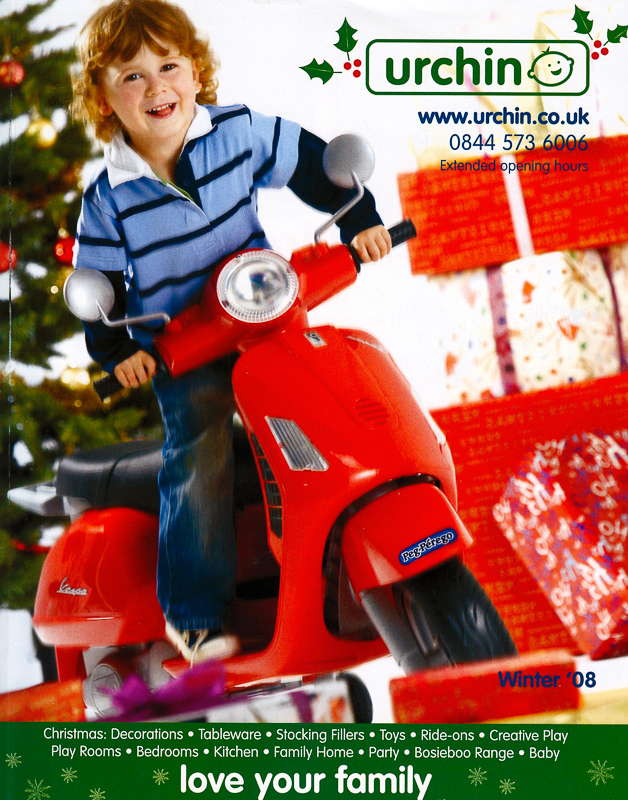 Urchins Christmas Catalog (Cover)