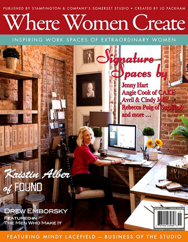 Where Women Create Cover
