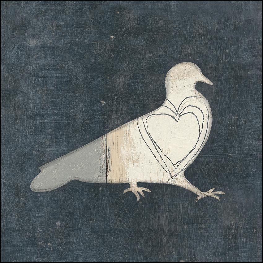 Bird with Big Heart