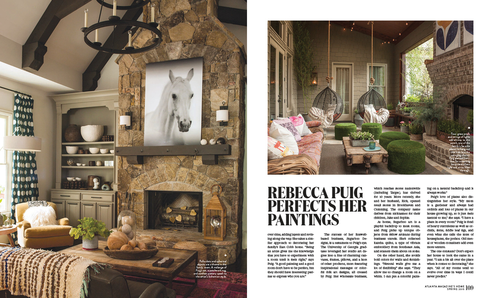 Atlanta Magazine's HOME - Spring 2015