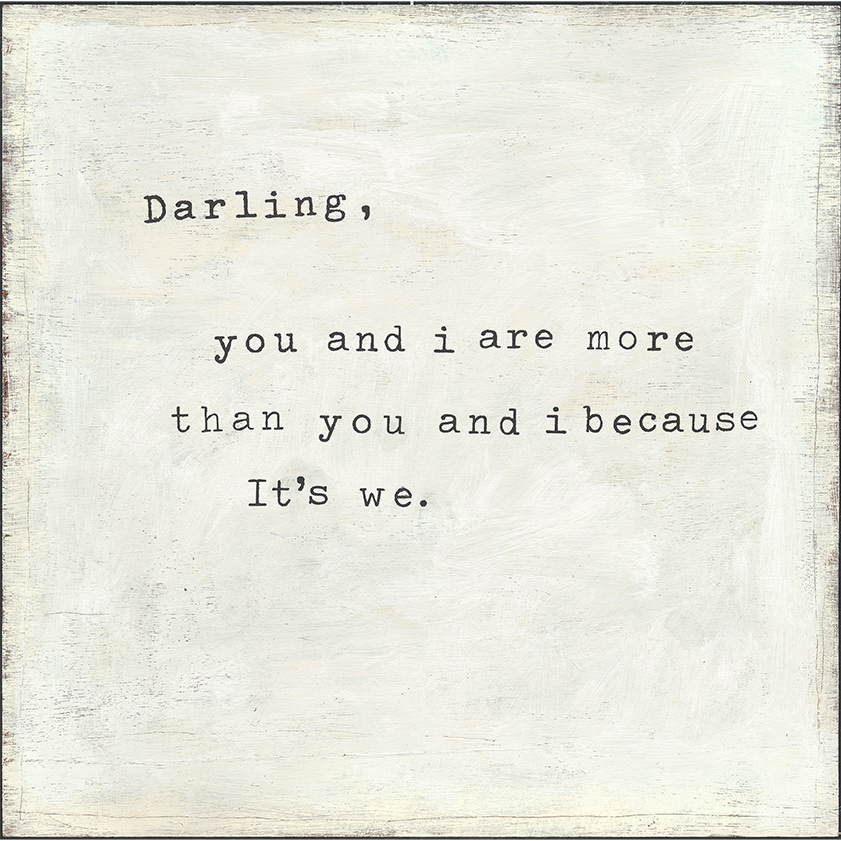 Small Print - Darling You and I