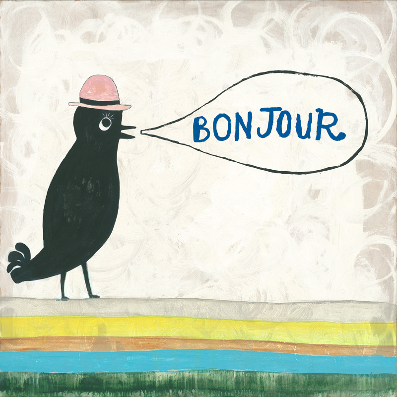 Bonjour - Small Print