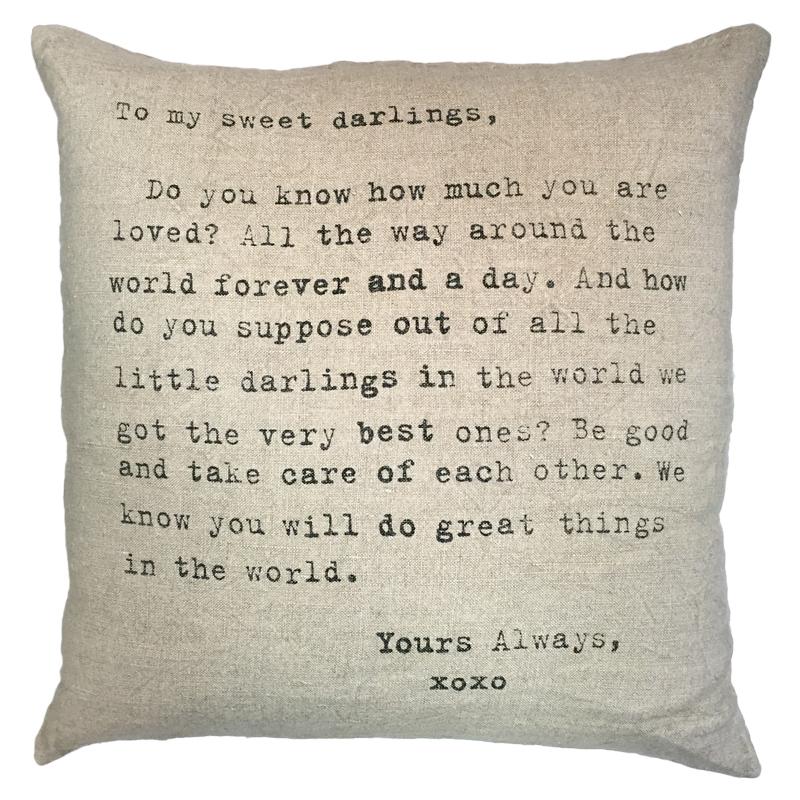 To My Sweet Darlings