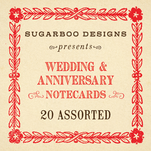 Wedding & Anniversary Notecard Set