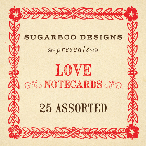 Love Notecards Set