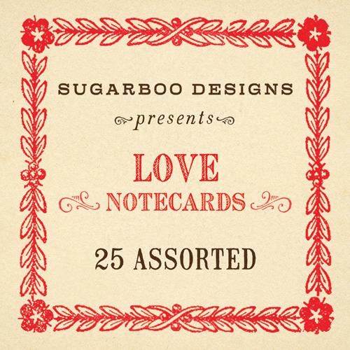 Love Notecards Set