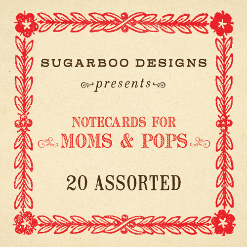Moms & Pops Notecard Set