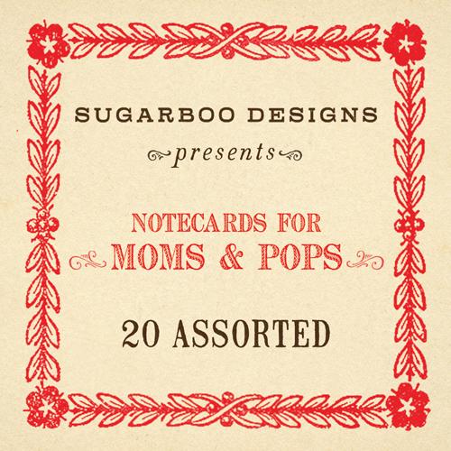 Moms & Pops Notecard Set